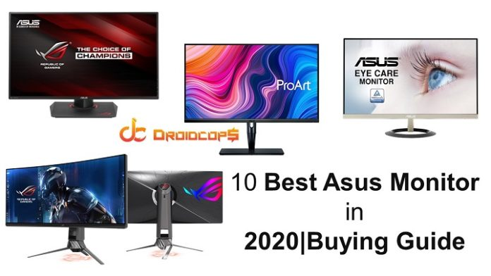 10 Best Asus Monitor in 2020 Buying Guide