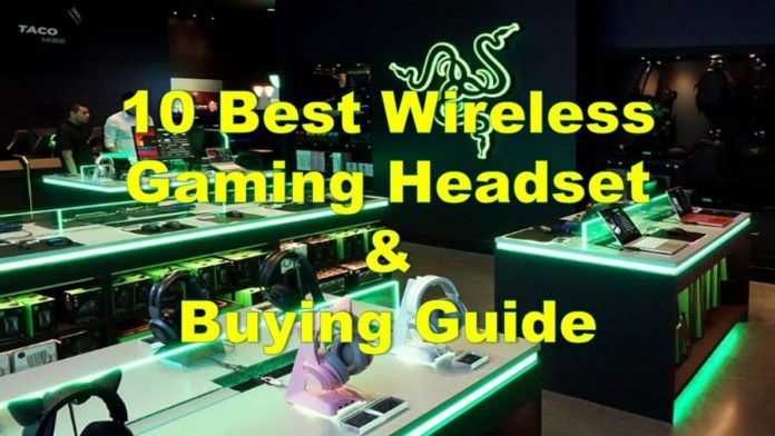 10 Best Wireless Gaming Headset & Buying Guide in 2020