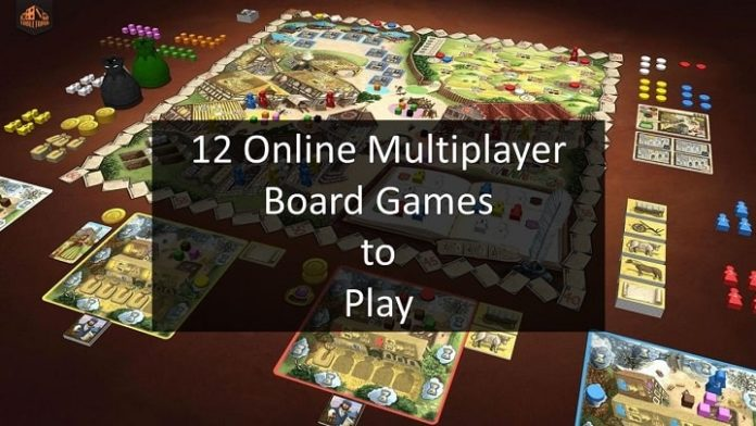 12 Online Multiplayer Board Games to Play