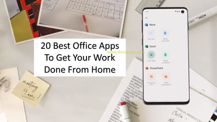 20 Best Office Apps To Get Your Work Done From Home