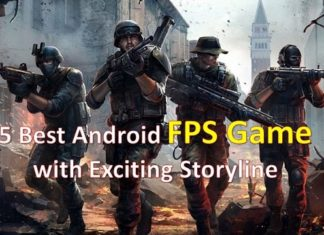 5 Best Android FPS Game with Exciting Storyline