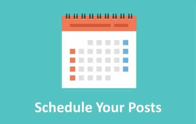 Schedule Your Posts as an Influncer
