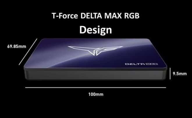 T-Force DELTA MAX RGB design