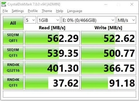 T-Force DELTA MAX RGB performance test 2