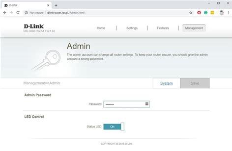 D-Link-DIR-3060-EXO-AC3000-Smart-Mesh-admin