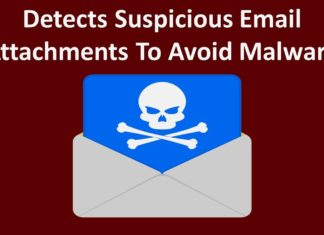 Detects Suspicious Email Attachments To Avoid Malware