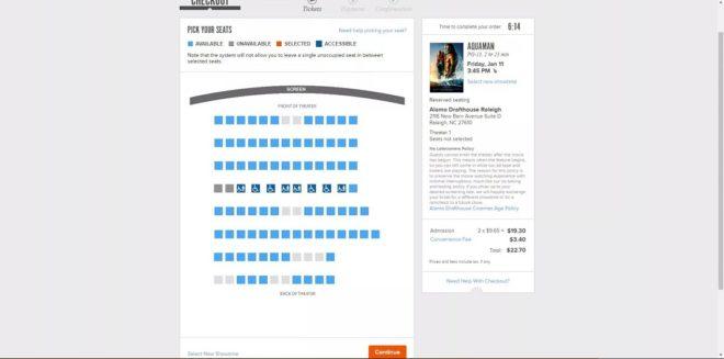 Fandango-website-how-to-book-movie-ticket