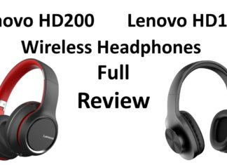 Lenovo HD200 & HD116 Wireless Headphones Review