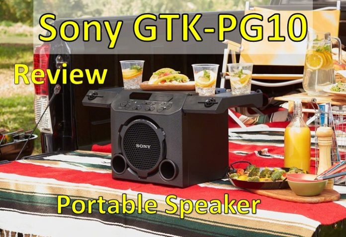 Review of Sony GTK-PG10 Portable Speakers For Outdoor Parties
