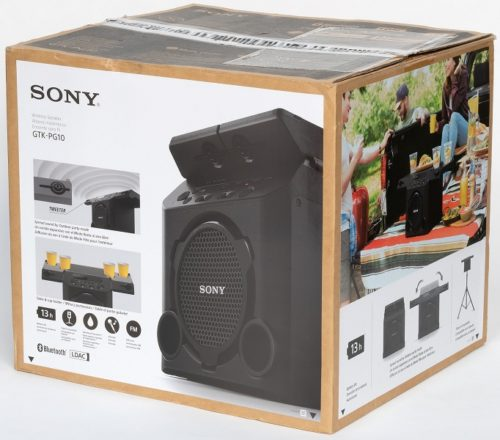 Review of Sony GTK-PG10 Portable Speaker For Outdoor Parties 1