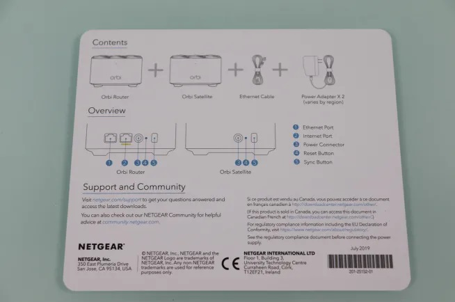 NETGEAR Orbi RBK12 AC1300 Wi-Fi Mesh System 4