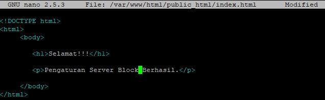 How to Make a Virtual Host on Ubuntu & Debian 4