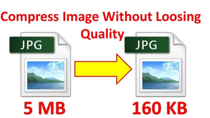 Compress JPG Image File Size without Loosing the Quality