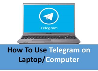 How To Use Telegram on Laptop-or-Computer