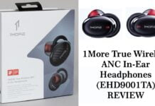 1More True Wireless ANC In-Ear Headphones (EHD9001TA)