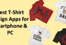 8 Best t-shirt design Apps for Smartphone & PC