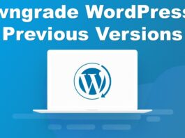 Downgrade-WordPress-to-Previous-Versions