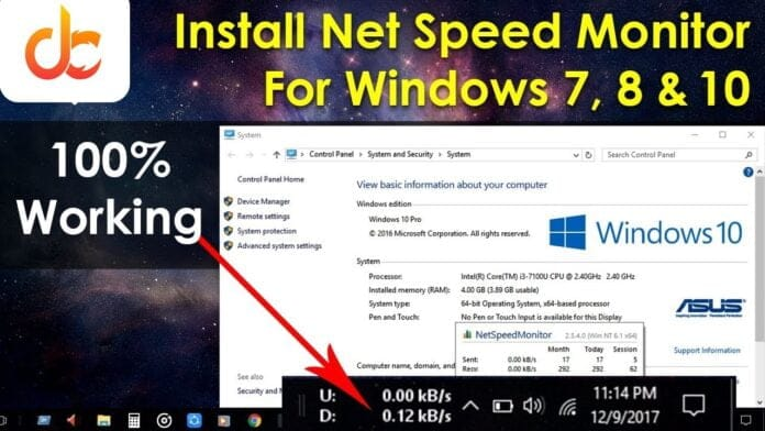 How-to-Display-Internet-Speed-in-Windows-10-8-7