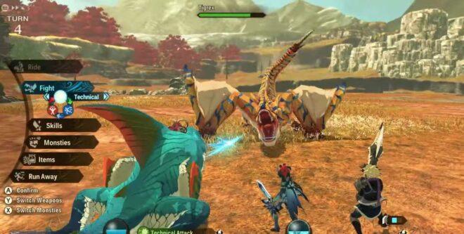 Monster Hunter Stories 2 Real Monster